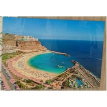 Tablas Playa Amadores Alto Brillo Hochglanzfoto auf Kunststoffplatte Bild Raumdeko 100x140cm