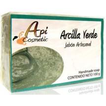 Valsabor | Jabon Artesanal de Arcilla Verde Seife Grüne Tonerde 100g (Gran Canaria)