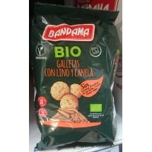Bandama |Galletas Bio Lino y Canela Eco Vegan Bio-Kekse mit Leinsamen und Zimt 150g (Gran Canaria)