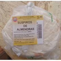 Dulceria Nublo | Suspiros de Almendras Bolsa ein Stück 80g Tüte (Gran Canaria)