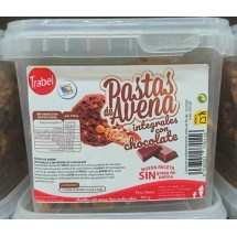 Trabel | Pastas de Avena Integral Chocolate Vollkorn-Hafer-Kekse Schokolade 300g (Gran Canaria)