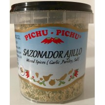 Pichu Pichu | Sazonador Ajillo Knoblauchgewürz gemahlen 100g Becher (Gran Canaria)
