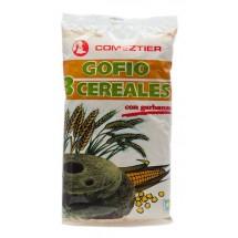 Comeztier | Gofio 3 Cereales con garbanzo 450g (Teneriffa)