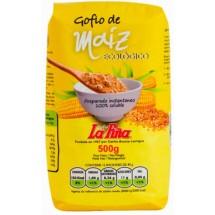 Gofio La Piña | Gofio de Maiz Ecologico Bio Mais-Mehl geröstet 500g (Gran Canaria)