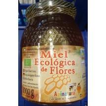 Apinatura | Miel Ecologica de Flores Bio-Blütenhonig 1kg Glas (Gran Canaria)