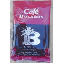 Cafe Bolanos | Cafe Molido de Tueste Natural 50% Torrefacto 50% Kaffee 250g Tüte (Gran Canaria)