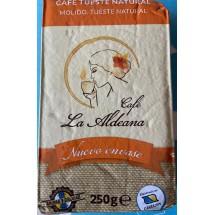 Cafe la Aldeana | Cafe Molido Tueste Natural Röstkaffee gemahlen 250g Päckchen angebaut auf Gran Canaria
