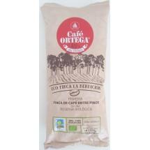 Cafe Ortega | Cafe Molido Natural Eco Finca La Bendicion Bio-Röstkaffee ganze Bohnen 500g Tüte (Gran Canaria)