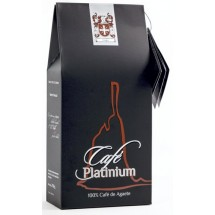 Cafe Platinum | Tueste Natural Molido gemahlener Premium-Röstkaffee aus Agaete 250g (Gran Canaria)