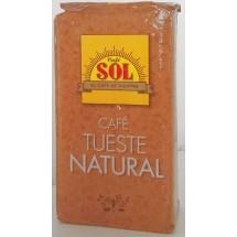Café Sol | Cafe Tueste Natural Molido gemahlener Röstkaffee 250g (Gran Canaria)