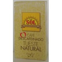 Café Sol   Tueste Natural molido Descafeinado gemahlener Röstkaffee entkoffeiniert 250g (Gran Canaria)