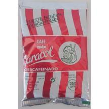 Caracol | Café Moka el Caracol Grano Tueste Natural molido Descafeinado Kaffee gemahlen 250g Tüte (Teneriffa)