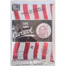 Caracol | Café Moka el Caracol Mezcla 50% natural & 50% torrefacto Kaffee gemahlen 250g Tüte (Teneriffa)