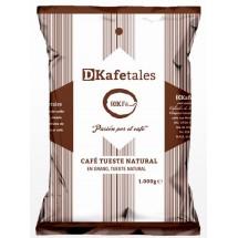 DKafetales | Cafe en Grano Tueste Natural gerösteter Bohnenkaffee 1kg (Gran Canaria)