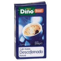 DinoFood   Cafe Molido Descafeinado De Tueste Natural Röstkaffee gemahlen entkoffeiniert 250g (Gran Canaria)