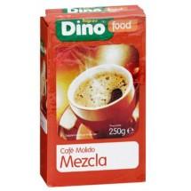 DinoFood   Cafe Molido Mezcla Natural Röstkaffee gemahlen gemischt 250g (Gran Canaria)