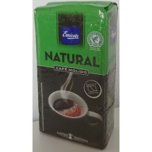 Emicela   Cafè Natural Molido gemahlener Röstkaffee 250g Karton (Gran Canaria)