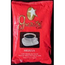 Guaire Cafe | Cafe Molido de Mezcla 50/50 Natural y Torrefacto Röstkaffee gemahlen gemischt 250g (Gran Canaria)