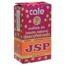 JSP | Cafe Molido de Tueste Natural Decafeinado gemahlener Röstkaffee entkoffeiniert 250g (Teneriffa)