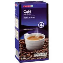 Spar | Cafe Molido Mezcla 50/50 Röstkaffee gemahlen 250g (Teneriffa)