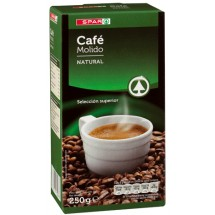 Spar | Cafe Molido Natural Röstkaffee gemahlen 25...