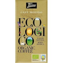 Tirma | Café Ecologico Molido Tueste Natural Bio-Röstkaffee gemahlen 250g (Gran Canaria)