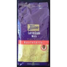 Tirma | Café en Grano Mezcla Hosteleria Bohnenkaffee geröstet Gastropackung 1kg (Gran Canaria)