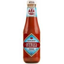 Intercasa | Ketchup Zero sin azucar anadidos ohne Zuckerzusatz Glasflasche 320g (Gran Canaria)