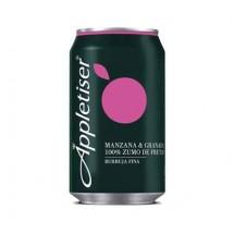 Appletiser   Manzana & Granada Apfelschorle mit Granatapfel 330ml Dose (Teneriffa)