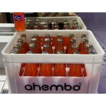 Clipper | Fresa Erdbeer-Limonade 24x 250ml Gastro-Glasflasche im Kasten inkl. Pfand (Gran Canaria)