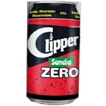 Clipper | Sandia Zero Wassermelonen-Limonade zuckerfrei 330ml Dose (Gran Canaria)