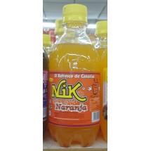 NIK | Naranja Lemonada Orangenlimonade 330ml PET-Flasche (Gran Canaria)