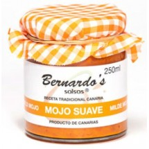 Bernardo's Mermeladas | Mojo Canario Suave rote milde Mojosauce 250ml (Lanzarote)