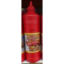 Mojo Canarion | Mojo Picon scharfe rote Mojosauce glutenfrei 1l/970g Plastikflasche (Gran Canaria)