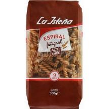 La Isleña | Espiral Integral 9 Minutos Spiral-Nudeln Vollkorn 500g (Gran Canaria)