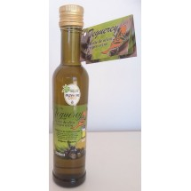 Teguerey | Aceite de Oliva Virgen Extra Seleccion Arbequina Hojiblanca Picual Olivenöl 250ml Glasflasche (Fuerteventura)