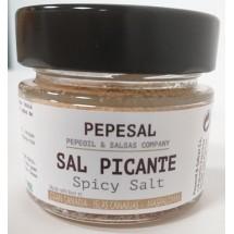 Pepeoil | Pepesal Sal Picante scharf gewürzte Salzmischung 100g Glas (Gran Canaria)