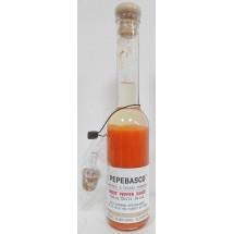 Pepeoil | Pepebasco Red Ghost Pepper Sauce extrem scharfes Tabasco-Würzöl 20.000 SHU 200ml Magnum (Gran Canaria)