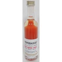 Pepeoil | Pepebasco Red Ghost Pepper Sauce extrem scharfes Tabasco-Würzöl 20.000 SHU 50ml (Gran Canaria)