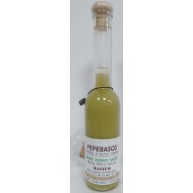 Pepeoil | Pepebasco Green Ghost Pepper Sauce extrem scharfes Tabasco-Würzöl 10.000 SHU 200ml Magnum (Gran Canaria)