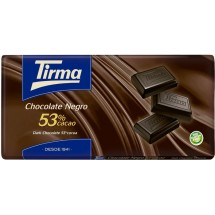Tirma | Chocolate Negro 53% Cacao dunkle Schokolade Tafel 150g (Gran Canaria)