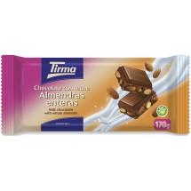 Tirma | Chocolate con Leche Almendras enteras Nussschokolade 170g (Gran Canaria)
