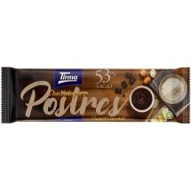 Tirma | Chocolate Para Postres 53% Cacao Schokolade für Nachtisch und backen 270g Tafel (Gran Canaria)