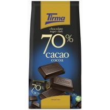 Tirma | Chocolate Negro 70% Cacao Minis dunkle Schokolade 14x 15g 210g Tüte (Gran Canaria)