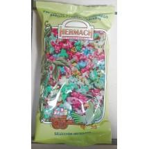 Hermach | Palomitas de Maiz al Caramelo Sabores Frutas Variadas Popcorn gemischt 90g Tüte (Gran Canaria)