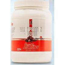Gofio La Piña | Whey Protein Gofio Batido Vegan Chocolate Schoko-Sportgetränkepulver 400g Dose (Gran Canaria)