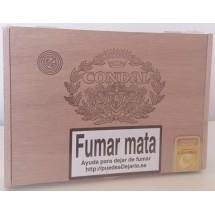 Condal | Caja Num. 3 25 kanarische Zigarren in Holzschatulle (Gran Canaria)