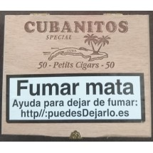 Cubanitos | Special 50 Petits Cigars Zigarillos in Holzschatulle (Teneriffa)
