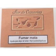 Flor de Canarias | Coronas 25 Puros Zigarren in Holzschatulle (Teneriffa)
