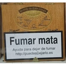 Minis de Canarias | 20 Minis Zigarillos Holzschachtel (Teneriffa)